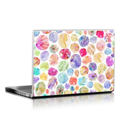 Laptop Skin - Watercolor Dots
