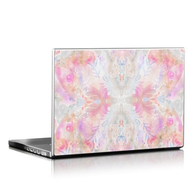 Laptop Skin - Watercolor Damask