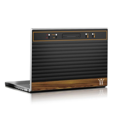 Laptop Skin - Wooden Gaming System