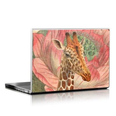 Laptop Skin - Whimsical Giraffe