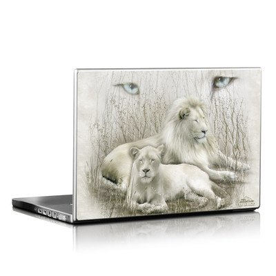 Laptop Skin - White Lion