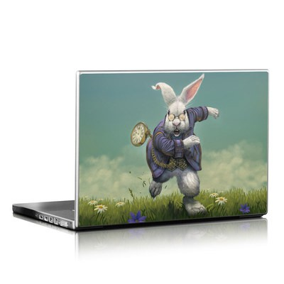Laptop Skin - White Rabbit