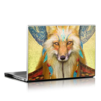 Laptop Skin - Wise Fox