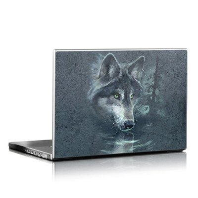 Laptop Skin - Wolf Reflection