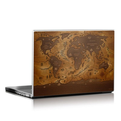 Laptop Skin - World Inversed