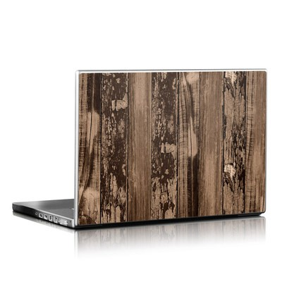 Laptop Skin - Weathered Wood
