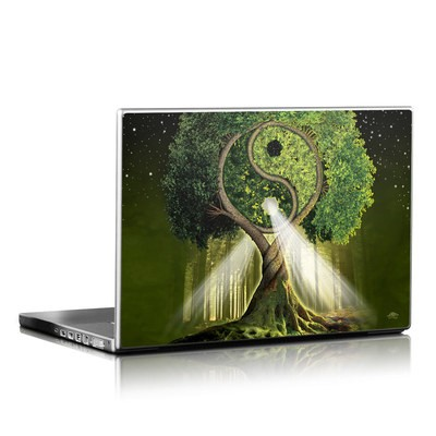 Laptop Skin - Yin Yang Tree