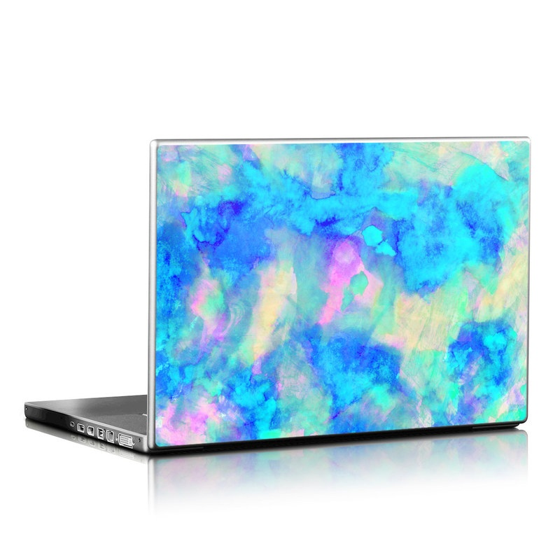 Laptop Skin Electrify Ice Blue By Amy Sia Decalgirl