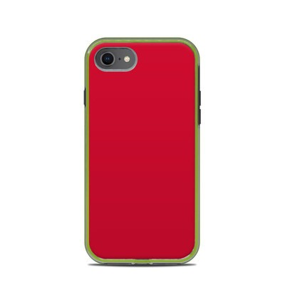 Lifeproof iPhone 7-8 Slam Case Skin - Solid State Red