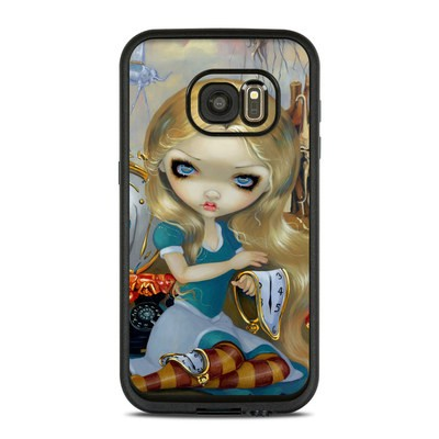 Lifeproof Galaxy S7 Fre Case Skin - Alice in a Dali Dream