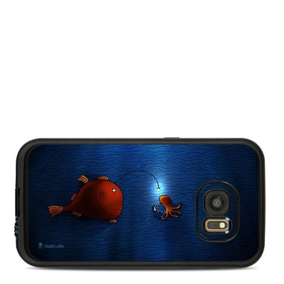 Lifeproof Galaxy S7 Fre Case Skin - Angler Fish