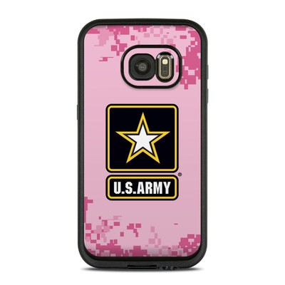 Lifeproof Galaxy S7 Fre Case Skin - Army Pink