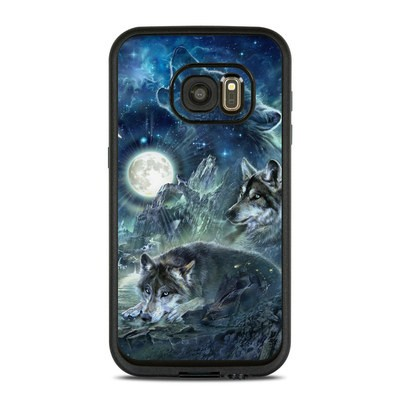 Lifeproof Galaxy S7 Fre Case Skin - Bark At The Moon