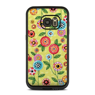 Lifeproof Galaxy S7 Fre Case Skin - Button Flowers