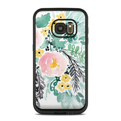 Lifeproof Galaxy S7 Fre Case Skin - Blushed Flowers