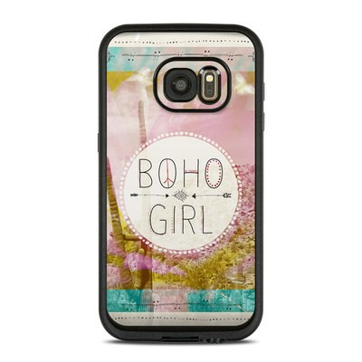 Lifeproof Galaxy S7 Fre Case Skin - Boho Girl