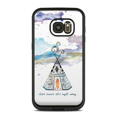 Lifeproof Galaxy S7 Fre Case Skin - Boho Teepee