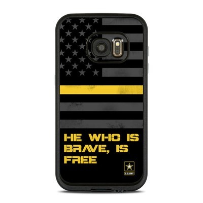 Lifeproof Galaxy S7 Fre Case Skin - Brave is Free