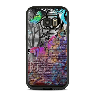 Lifeproof Galaxy S7 Fre Case Skin - Butterfly Wall