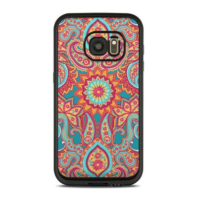 Lifeproof Galaxy S7 Fre Case Skin - Carnival Paisley