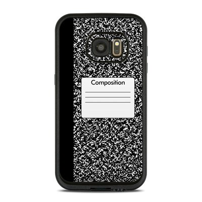 Lifeproof Galaxy S7 Fre Case Skin - Composition Notebook