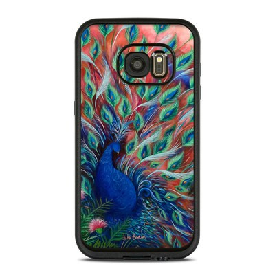 Lifeproof Galaxy S7 Fre Case Skin - Coral Peacock