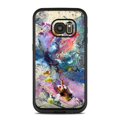 Lifeproof Galaxy S7 Fre Case Skin - Cosmic Flower