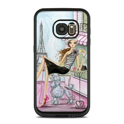 Lifeproof Galaxy S7 Fre Case Skin - Cafe Paris