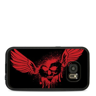 Lifeproof Galaxy S7 Fre Case Skin - Dark Heart Stains