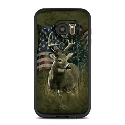 Lifeproof Galaxy S7 Fre Case Skin - Deer Flag