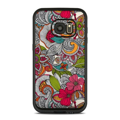 Lifeproof Galaxy S7 Fre Case Skin - Doodles Color