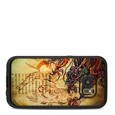 Lifeproof Galaxy S7 Fre Case Skin - Dragon Legend