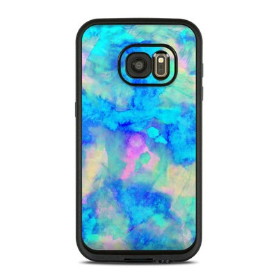 Lifeproof Galaxy S7 Fre Case Skin - Electrify Ice Blue
