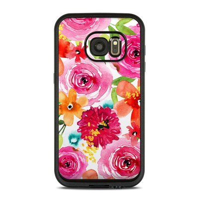 Lifeproof Galaxy S7 Fre Case Skin - Floral Pop