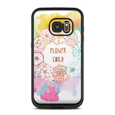Lifeproof Galaxy S7 Fre Case Skin - Flower Child