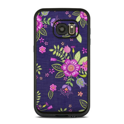 Lifeproof Galaxy S7 Fre Case Skin - Folk Floral