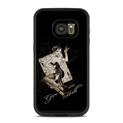 Lifeproof Galaxy S7 Fre Case Skin - Give Em Hell