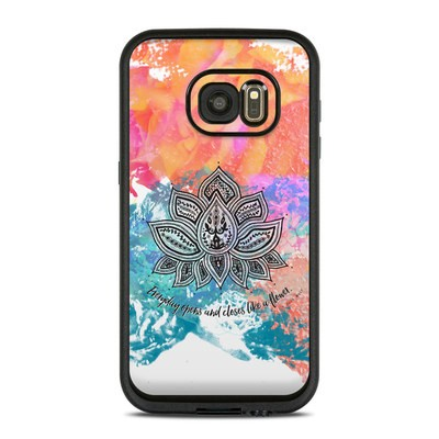 Lifeproof Galaxy S7 Fre Case Skin - Happy Lotus