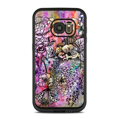 Lifeproof Galaxy S7 Fre Case Skin - Hot House Flowers