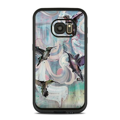 Lifeproof Galaxy S7 Fre Case Skin - Hummingbirds