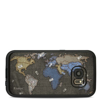 Lifeproof Galaxy S7 Fre Case Skin - Jean Map