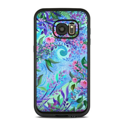 Lifeproof Galaxy S7 Fre Case Skin - Lavender Flowers