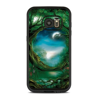 Lifeproof Galaxy S7 Fre Case Skin - Moon Tree