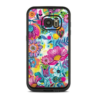 Lifeproof Galaxy S7 Fre Case Skin - Natural Garden