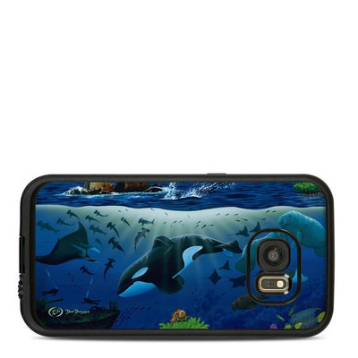 Lifeproof Galaxy S7 Fre Case Skin - Oceans For Youth