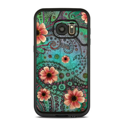 Lifeproof Galaxy S7 Fre Case Skin - Paisley Paradise