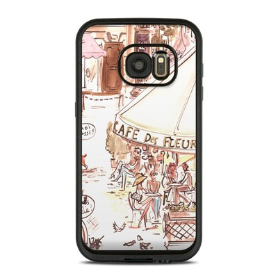 Lifeproof Galaxy S7 Fre Case Skin - Paris Makes Me Happy