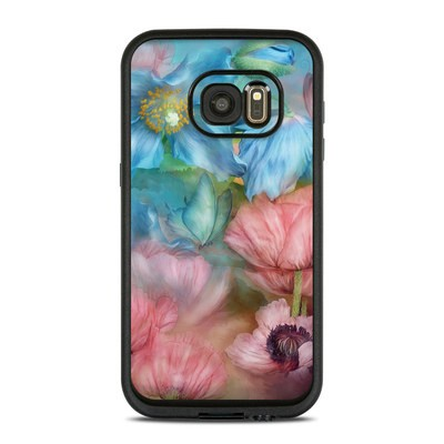 Lifeproof Galaxy S7 Fre Case Skin - Poppy Garden