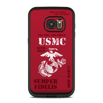 Lifeproof Galaxy S7 Fre Case Skin - Semper Fi