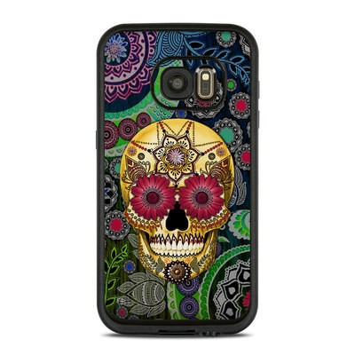 Lifeproof Galaxy S7 Fre Case Skin - Sugar Skull Paisley